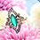 Thumbnail: 14k Antique Style Emerald & Diamond Ring