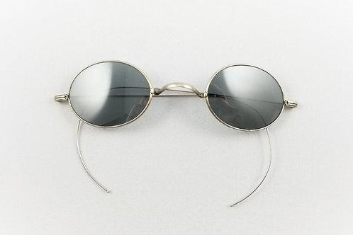 Victorian Era Silver Sunglasses