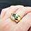 Thumbnail: 14k Three Stone Sapphire Ring