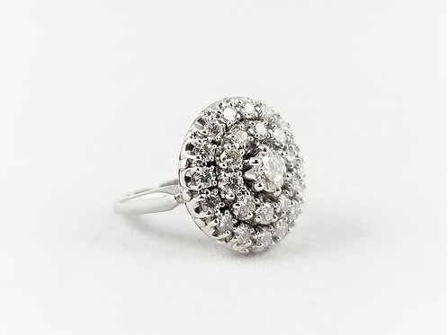 18k Diamond Cocktail Ring by Jabel