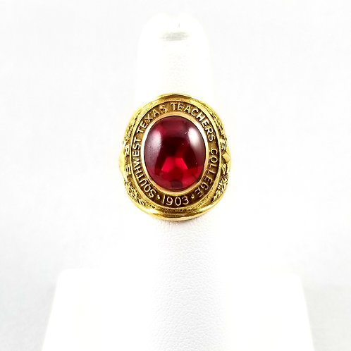 1949 Texas State University Class Ring (Teacher's College)