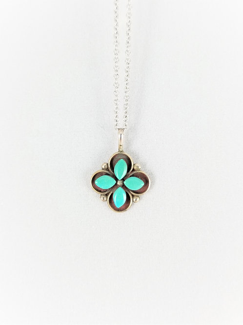 Sterling Silver Turquoise Pendant SOLD