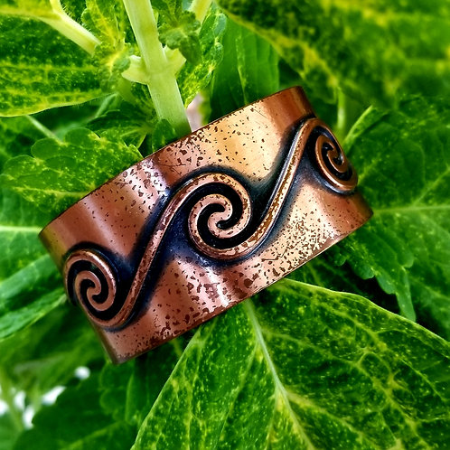 1930's-40's Copper Bell Trading Post Unisex Cuff