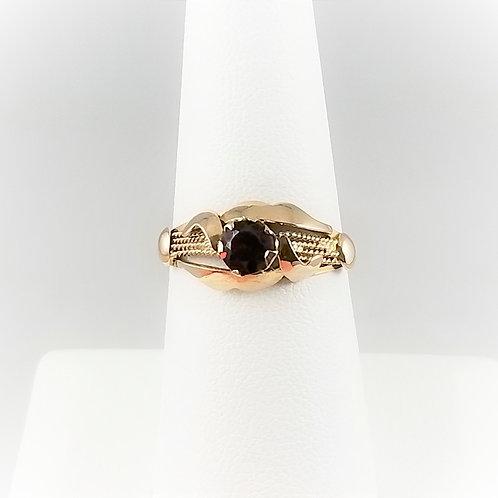 14k Vintage Garnet Ring SOLD