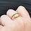 Thumbnail: Unique Vintage 9k Diamond Serpent Ring