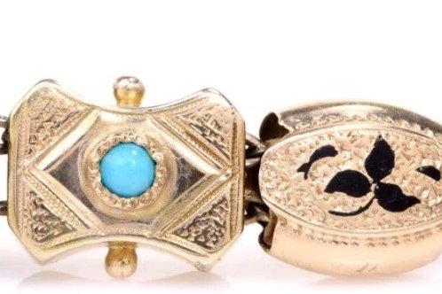 10k & 14k Antique Slide Bracelet SOLD