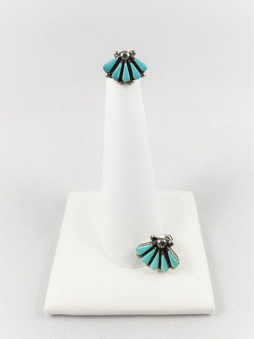 Sterling Silver & Turquoise Earrings SOLD