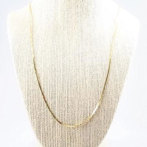 """1/16"""" Herringbone Chain in 14k"""