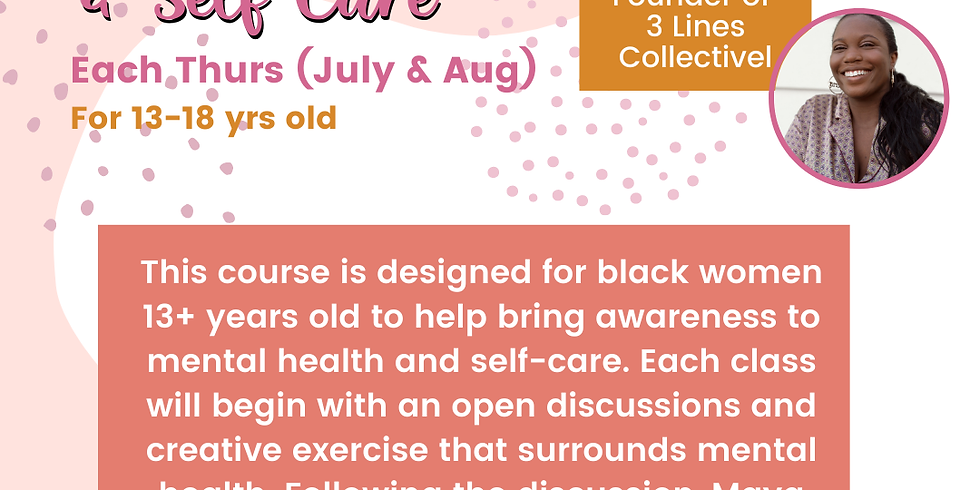 Virtual Improv & Self-Care Summer Workshop 3