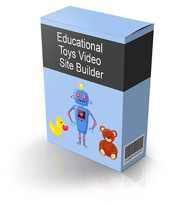 Educational Toys Video Site Builder