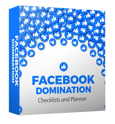 Facebook Domination Checklists and Planner