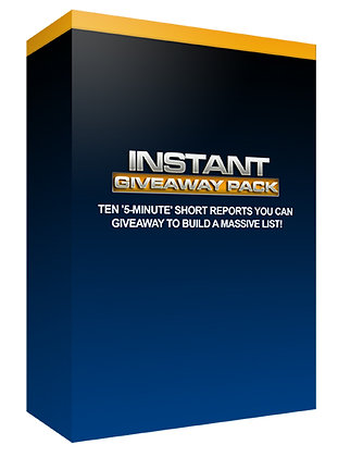 Instant Giveaway Pack