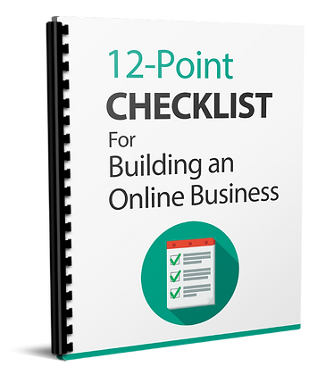 12 Point Checklist For Building An Online Business