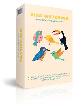 Bird Watching Instant Mobile Video Site
