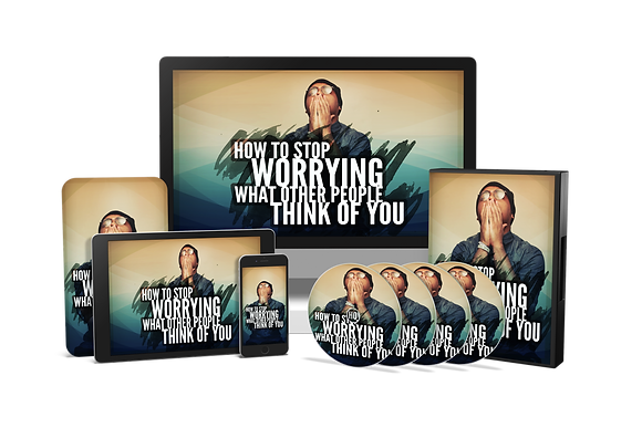 How To Stop Worrying What Other People Think of You Upgrade Package