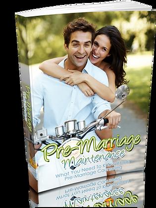 Pre-Marriage Maintenance