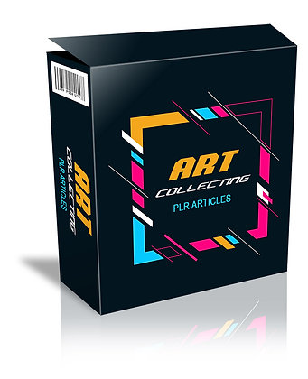 Art Collecting PLR Articles