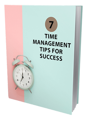 7 Time Management Tips For Success