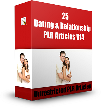25 Dating and Relationships PLR Articles V13