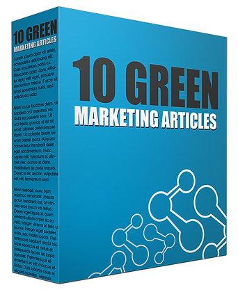 10 Green Marketing Articles