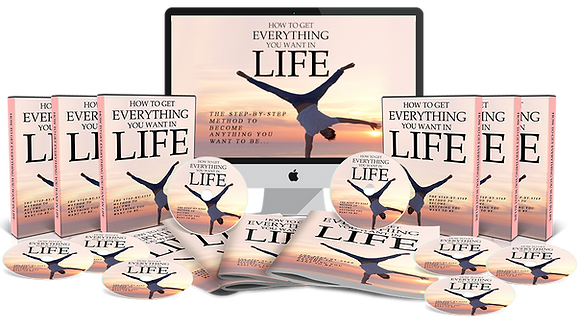 How To Get Everything You Want In Life Upgrade Package