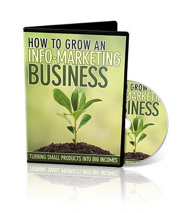 How To Grow An Info-Marketing Business