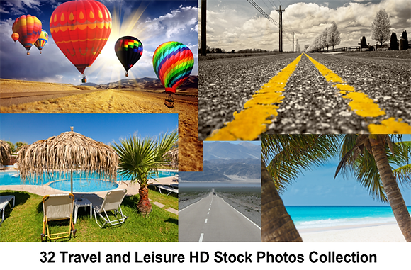 32 Travel and Leisure HD Stock Photos Collection
