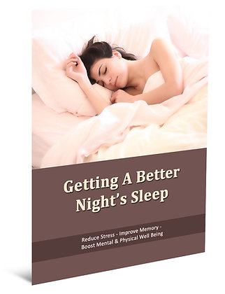 Getting a Better Nights Sleep