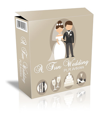 A Fun Wedding PLR Articles
