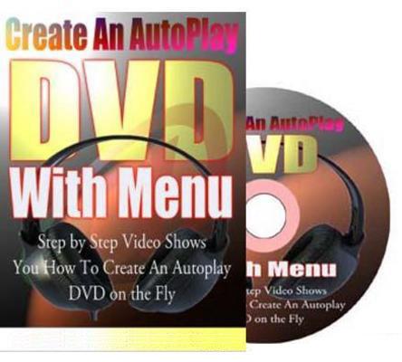 Create An AutoPlay DVD With Menu