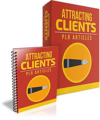 Attracting Clients PLR Articles