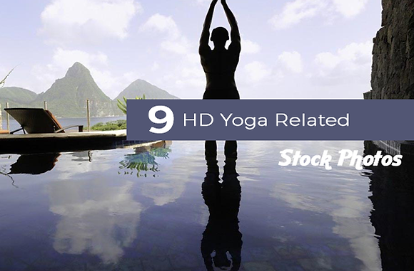 9 HD Yoga Related Stock Photos