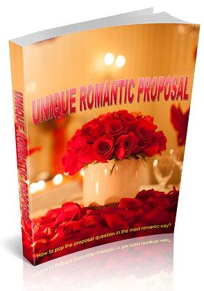Unique Romantic Proposal