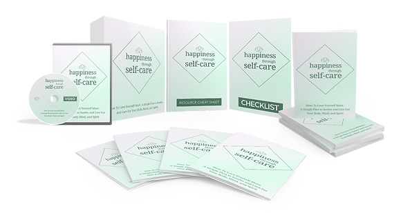 Happiness Through Self-Care Upgrade Package