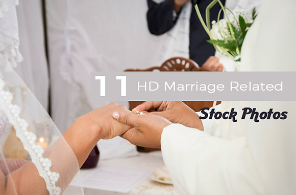 11 HD Marriage Related Stock Photos