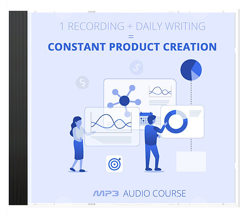 1 Recording + Daily Writing = Constant Product Creation