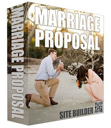Marriage Proposal Site Builder