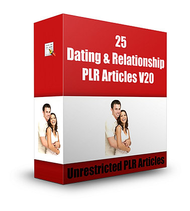 25 Dating and Relationship PLR Articles V20