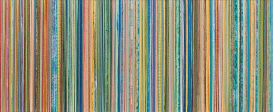 Lineas II, Verdes y Calipsos, 2012,80x20