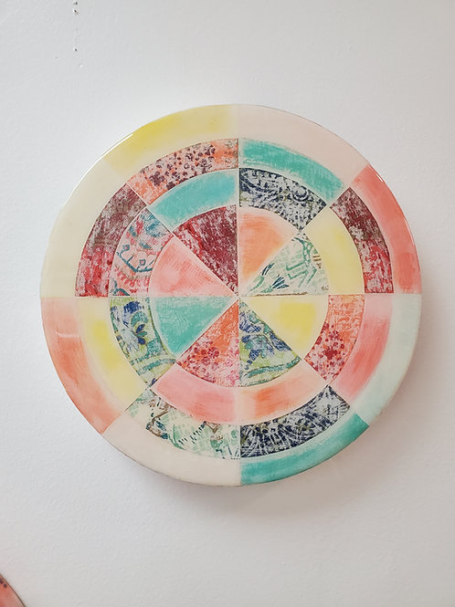 "Shelly Pinto: ""Pinwheel #8 (8 in circle)"""