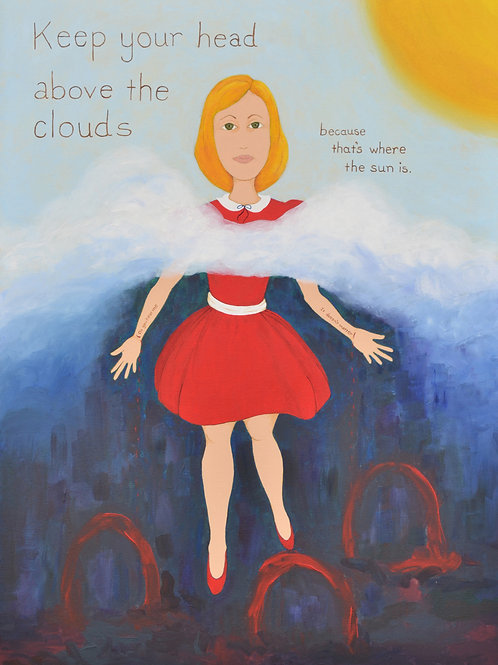 """Nancy Morrison: """"Head Above the Clouds"""""""