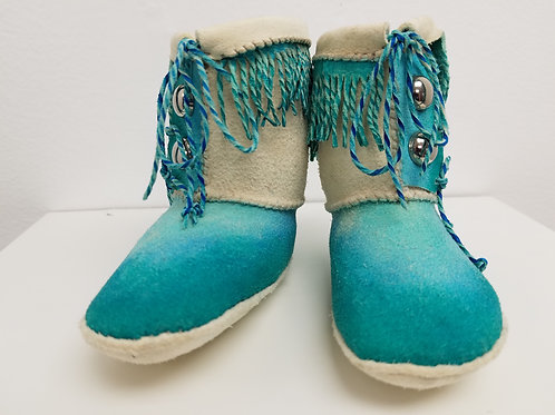 """Phillip Pursel: """"Baby Moccasins"""""""