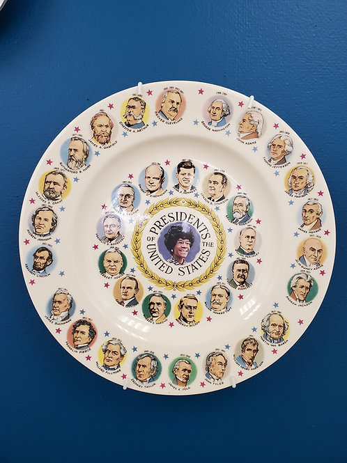 """Bri Murphy: """"Presidents of the United States Commemorative Plate (1972 edition)"""""""