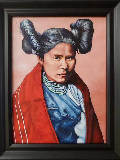 "Phillip Pursel: ""Hopi Woman"""
