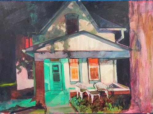 "Caleb Harman:  ""508 N 2nd Street, Athison Ks (The Sallie House at Midnight)"""