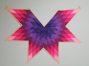 Star Quilt (wearable)