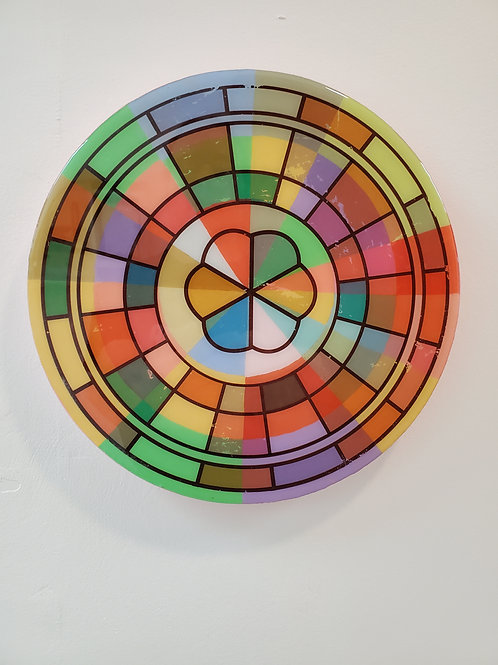 """Shelly Pinto: """"Kaleidoscope #10 (10 in circle)"""""""