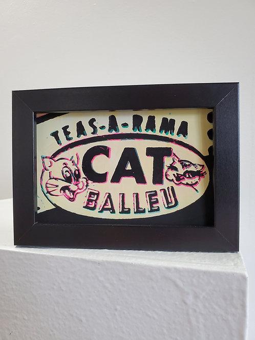 """Tj Templeton: """"Cat Balleu (double image mini 001)"""""""