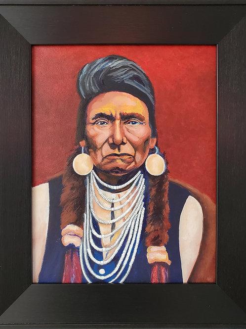 """Phillip Pursel: """"Chief Joseph"""""""