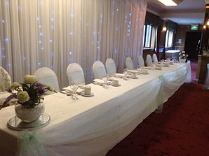 Top Table Swags